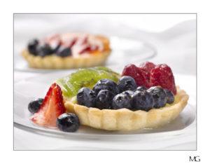 photo of tarts by Mark Galan at Carey Color Studio